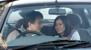 Jackie Chan and Katie Leung in The Foreigner