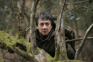 Jackie Chan doing some jungle fighting