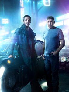 Harrison Ford and Ryan Gosling in Blade Runner 2049