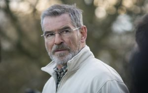 Pierce Brosnan as minister Liam Hennessy